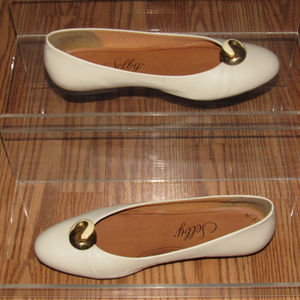 Selby Active Flex Leather Slip-On Shoes Size 9M
